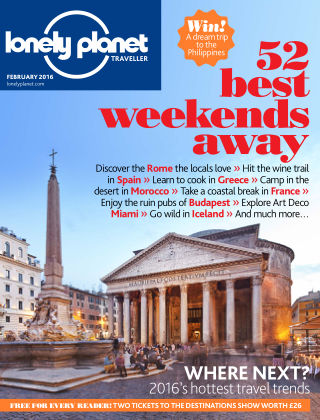 Lonely Planet Traveller February 2016
