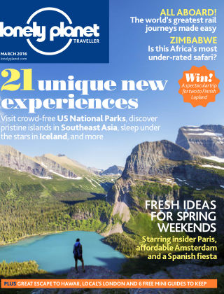 Lonely Planet Traveller March 2016