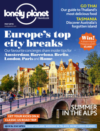 Lonely Planet Traveller May 2016