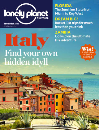 Lonely Planet Traveller September 2016