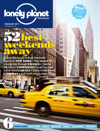Lonely Planet Traveller Feb 2017