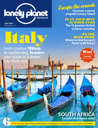 Lonely Planet Traveller July 2017