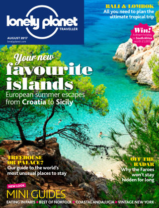 Lonely Planet Traveller August 2017