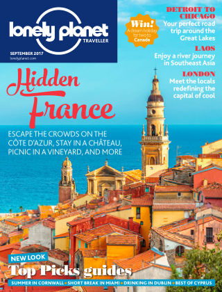 Lonely Planet Traveller September 2017