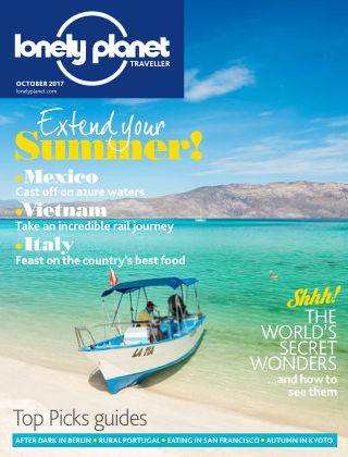 Lonely Planet Traveller October 2017