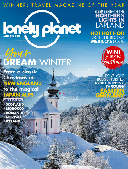 Lonely Planet Traveller November 30, 2017 00:00