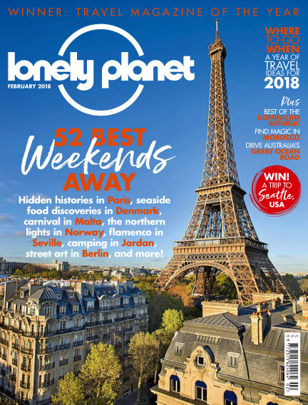 Lonely Planet Traveller January 04, 2018 00:00
