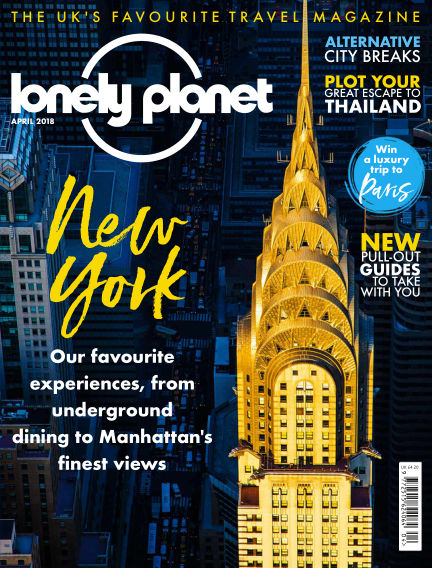 Lonely Planet Traveller March 01, 2018 00:00
