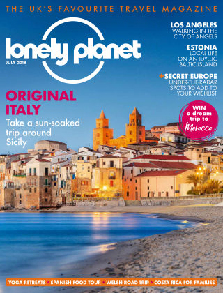 Lonely Planet July 2018