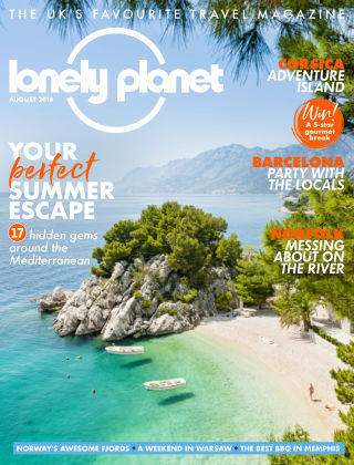 Lonely Planet Traveller August 2018