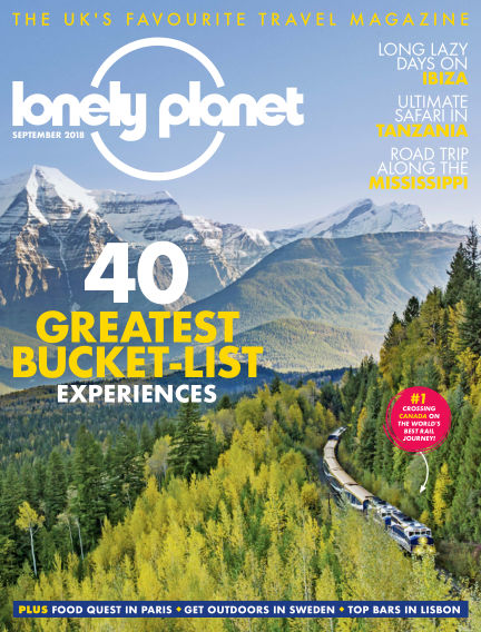 Lonely Planet Traveller August 01, 2018 00:00