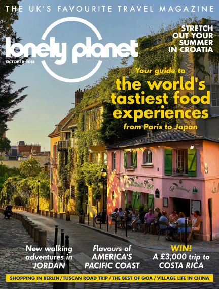 Lonely Planet Traveller August 30, 2018 00:00