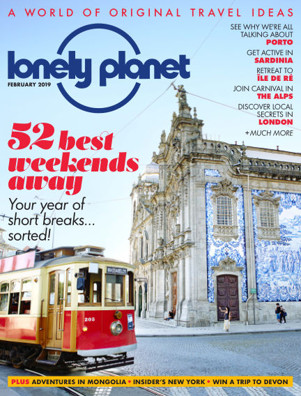 Lonely Planet Traveller January 03, 2019 00:00