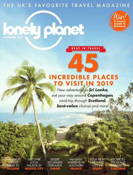 Lonely Planet Traveller November 02, 2018 00:00