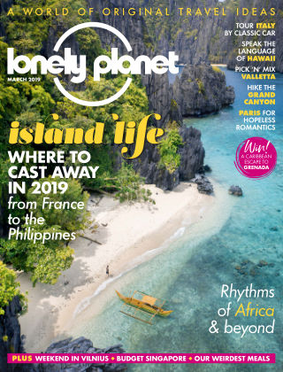 Lonely Planet Traveller March2019