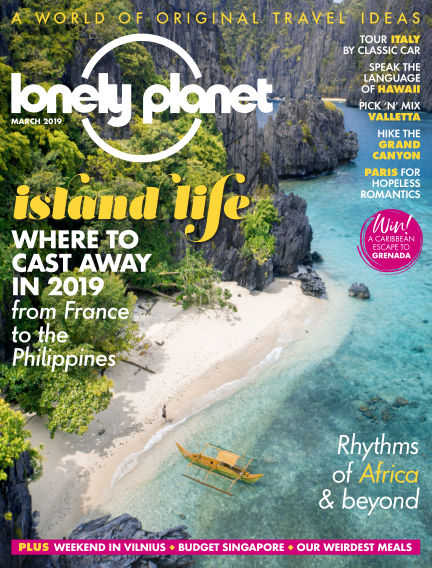 Lonely Planet Traveller January 31, 2019 00:00