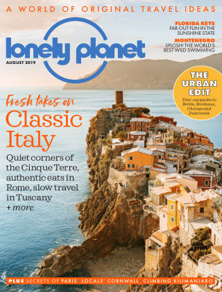 Lonely Planet Traveller  August2019