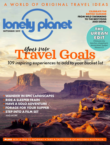 Lonely Planet Traveller August 01, 2019 00:00
