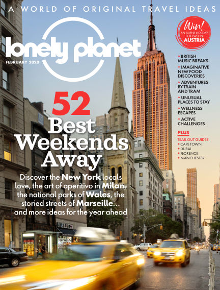 Lonely Planet Traveller January 02, 2020 00:00