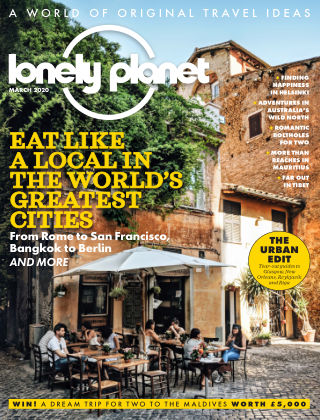 Lonely Planet Traveller March2020