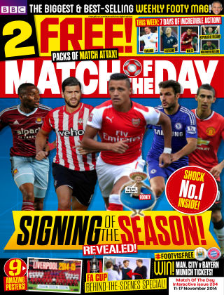 Match of the Day Issue 334