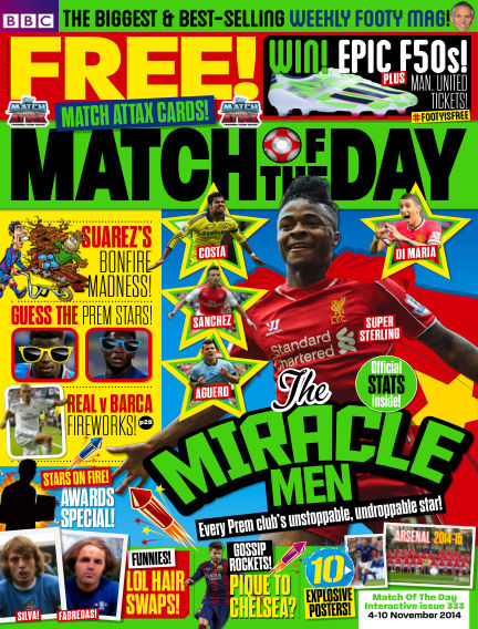 Match of the Day November 03, 2014 00:00