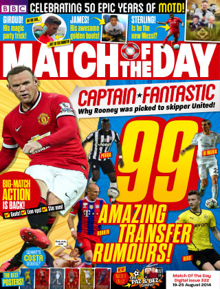 Match of the Day Issue 322