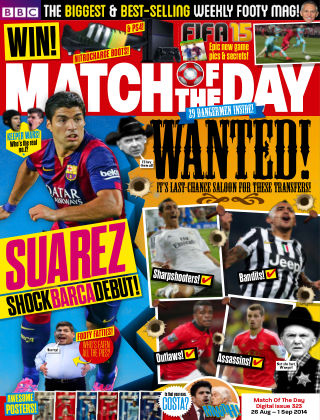 Match of the Day Issue 323