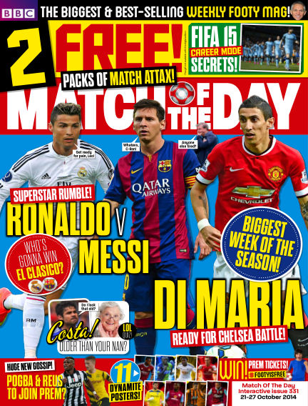 Match of the Day October 21, 2014 00:00