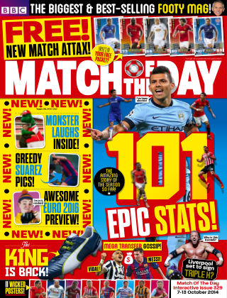 Match of the Day Issue 329