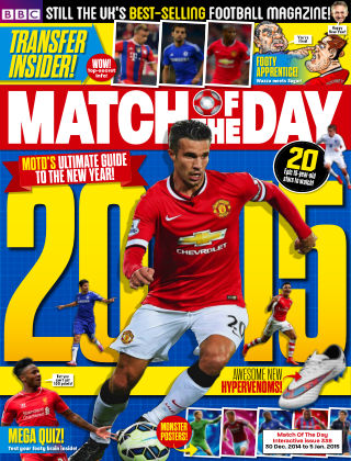 Match of the Day Issue 338