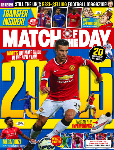 Match of the Day December 30, 2014 00:00