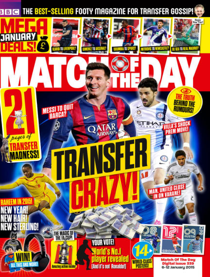 Match of the Day January 06, 2015 00:00