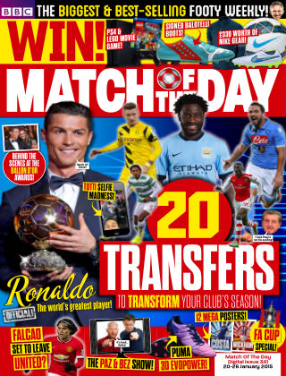 Match of the Day Issue 341