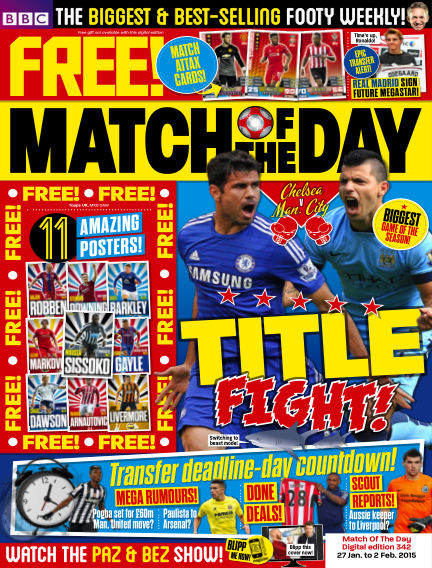 Match of the Day January 26, 2015 00:00