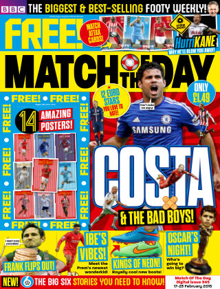 Match of the Day Issue 345