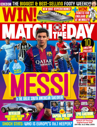 Match of the Day Issue 346