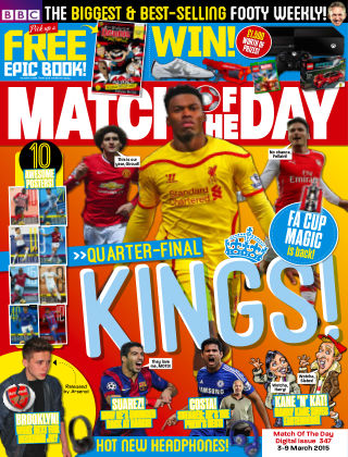 Match of the Day Issue 347