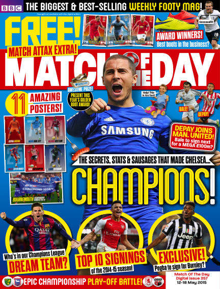 Match of the Day May 11, 2015 00:00