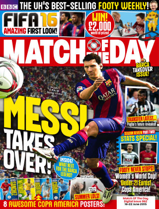 Match of the Day Issue 362