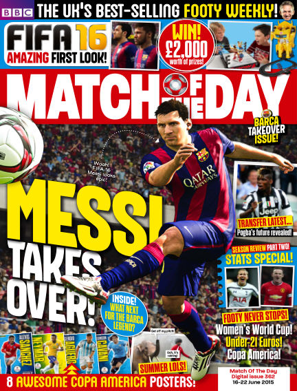 Match of the Day June 15, 2015 00:00