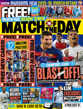 Match of the Day Issue 375