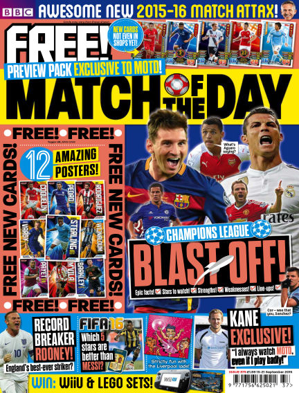 Match of the Day September 14, 2015 00:00