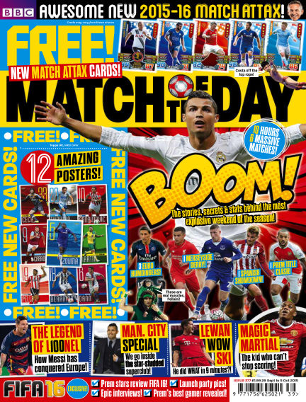 Match of the Day September 28, 2015 00:00
