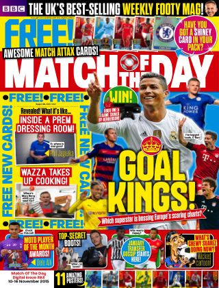 Match of the Day Issue 383