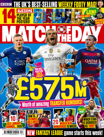 Match of the Day December 28, 2015 00:00