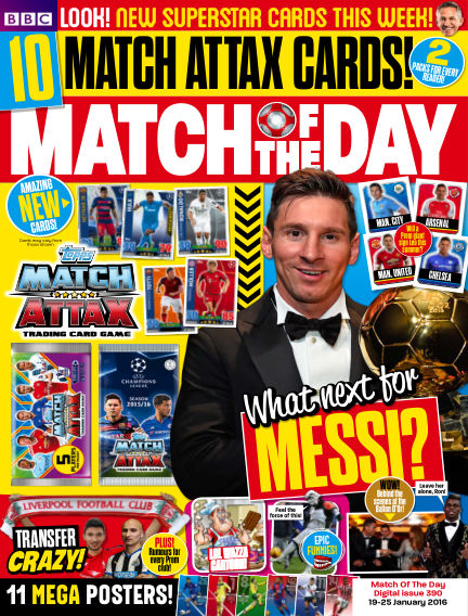 Match of the Day January 18, 2016 00:00
