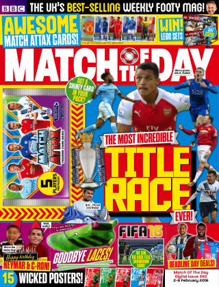 Match of the Day Issue 392