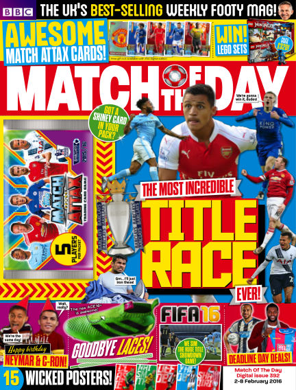 Match of the Day February 01, 2016 00:00