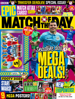 Match of the Day Issue 391